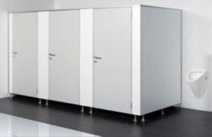 туалетные кабины из ДСП