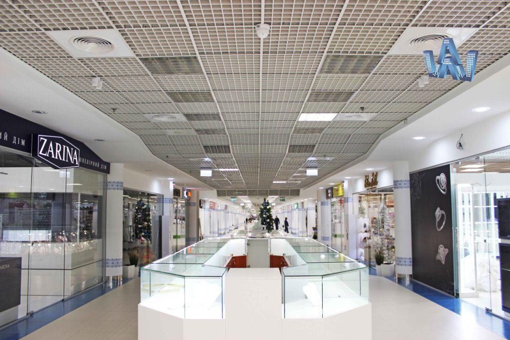 стеклянные перегородки торговый центр метроград