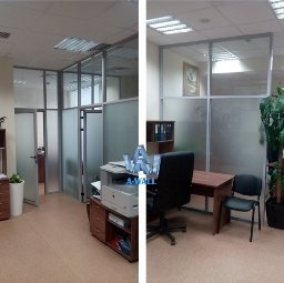 Офисные перегородки для компании Экспертресурс