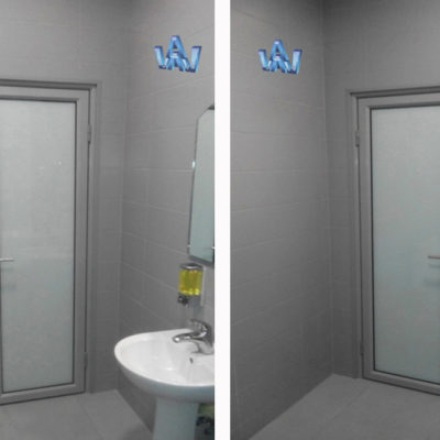 стационарные офисные перегородки двери