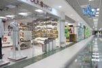 Cтеклянные перегородки в торговом центре Метроград