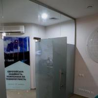 стеклянные перегородки для банков